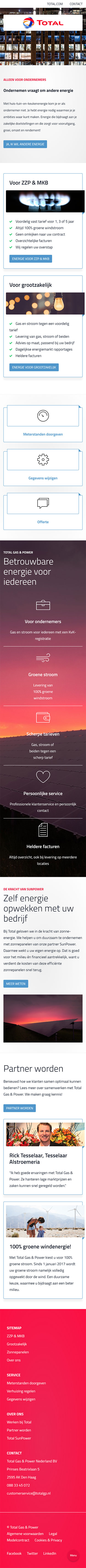 www.total energie.nl mobile